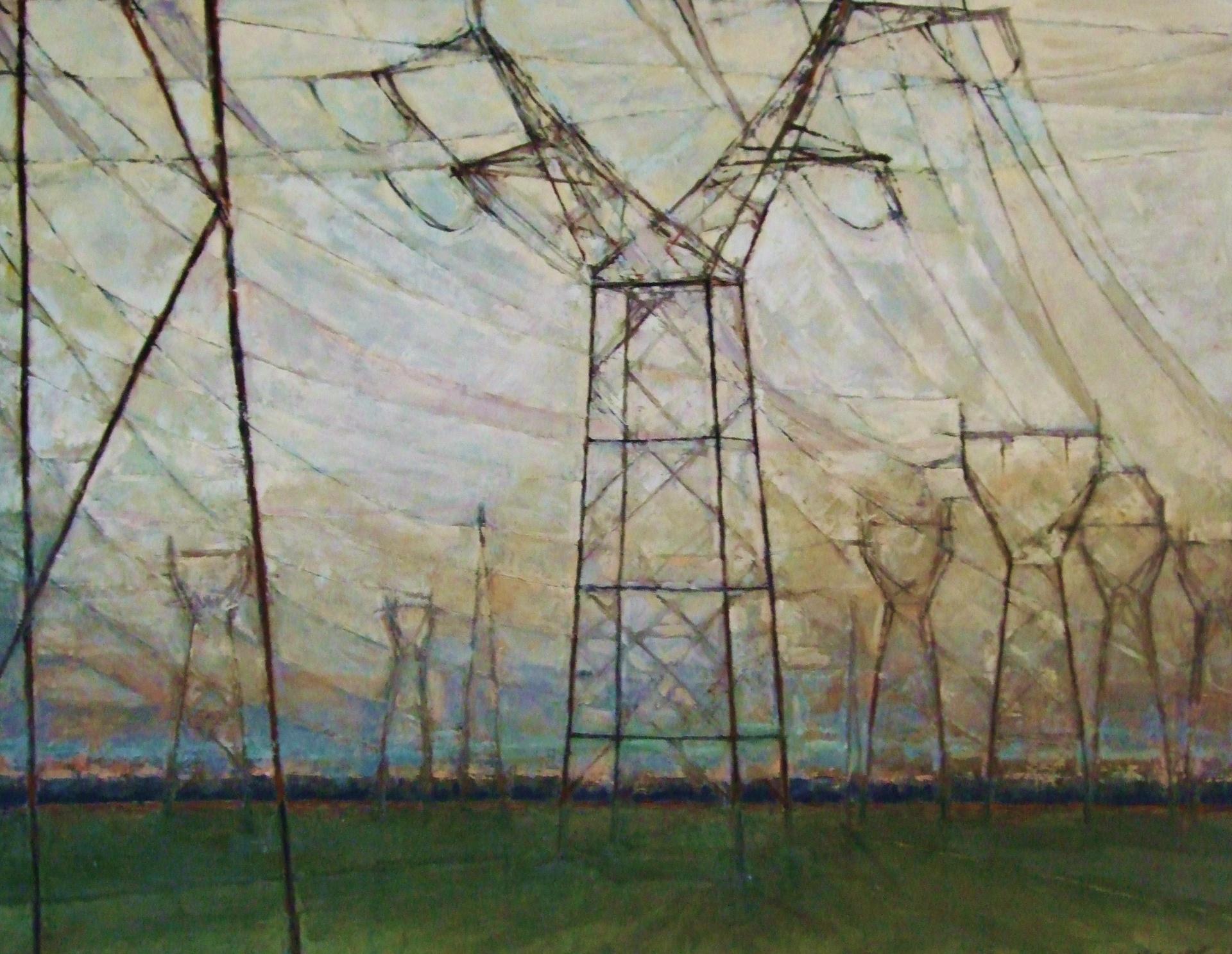 Pylons.