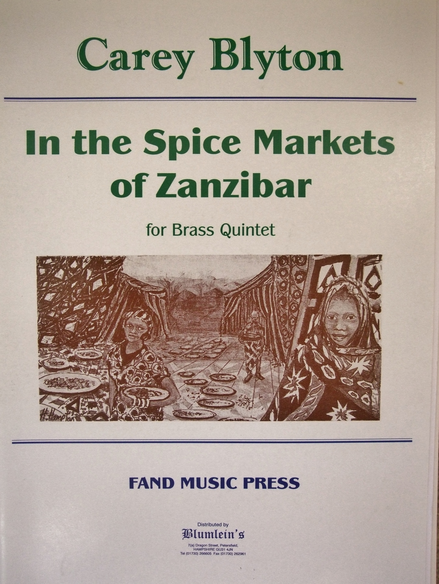 In the Spice Markets of Zanzibar.