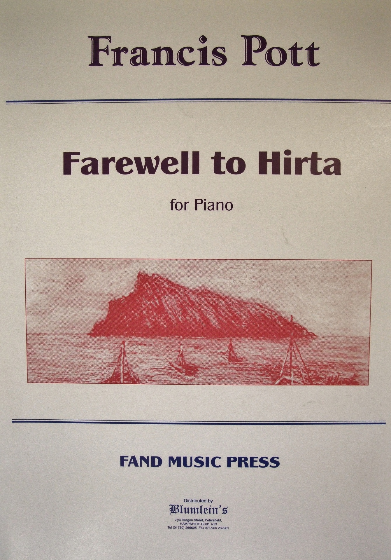 Farewell to Hirta.