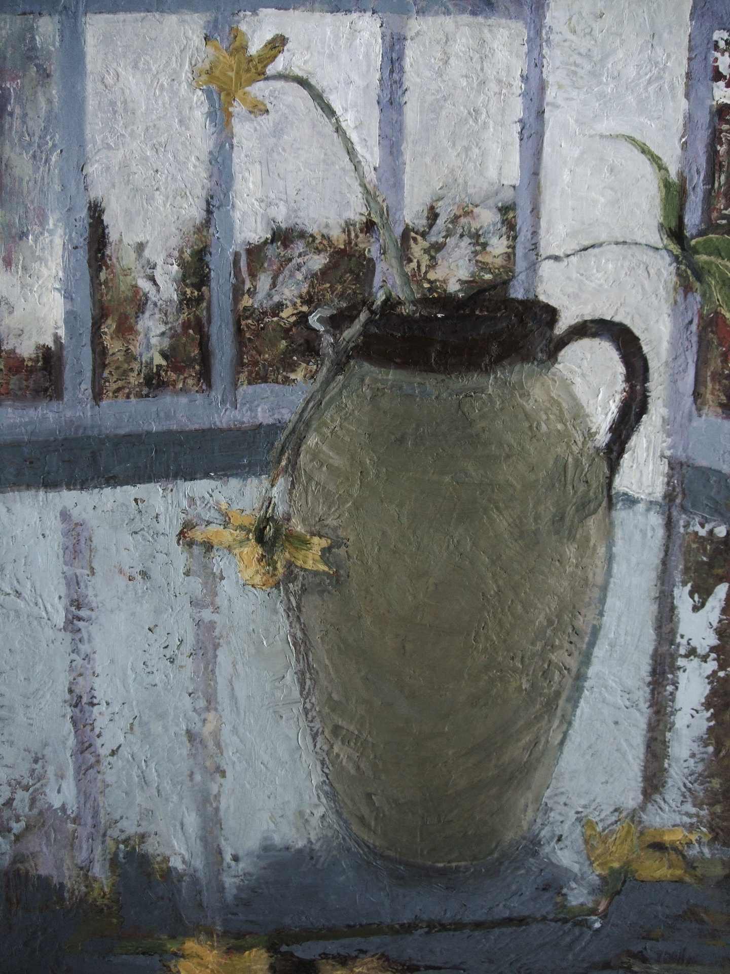 Jug against Window.    SOLD.